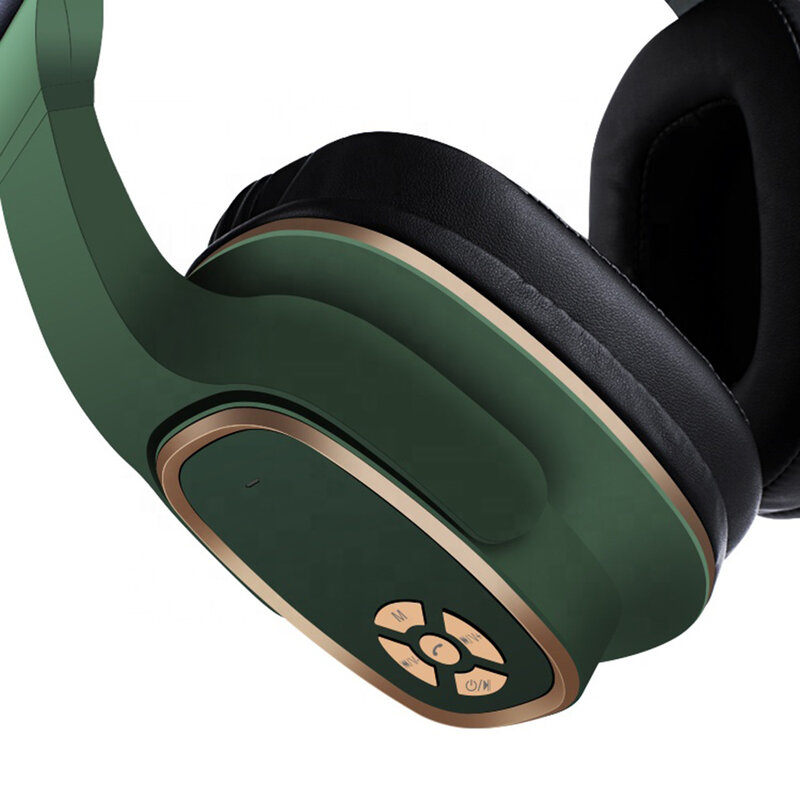 Casti On-Ear Wireless Lito S2 Cu Microfon Si Bluetooth 5.0 3W - Verde