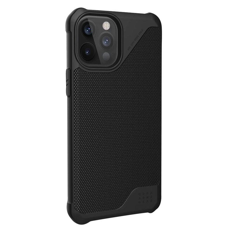 Husa iPhone 12 Pro Max UAG Metropolis LT - FIBRARM - Negru