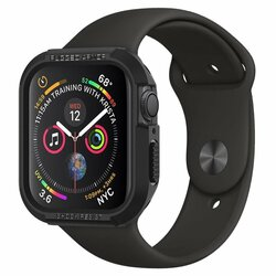 Husa Apple Watch 5 44mm Spigen Rugged Armor - Black