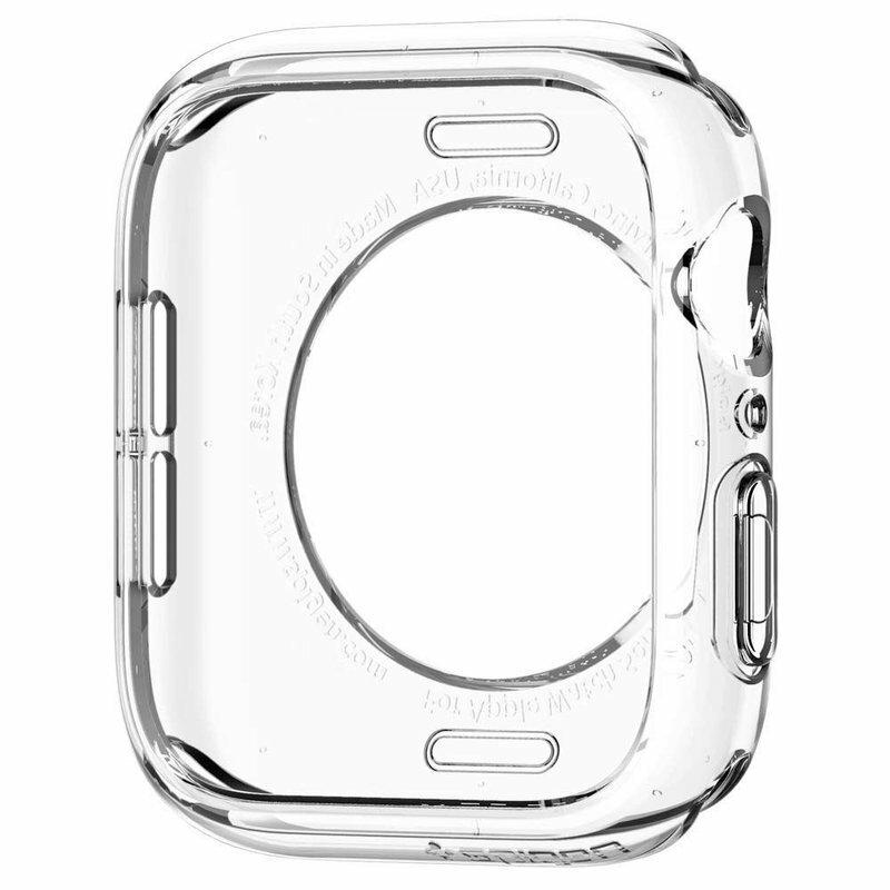 Husa Apple Watch 5 44mm Spigen Liquid Crystal - Clear
