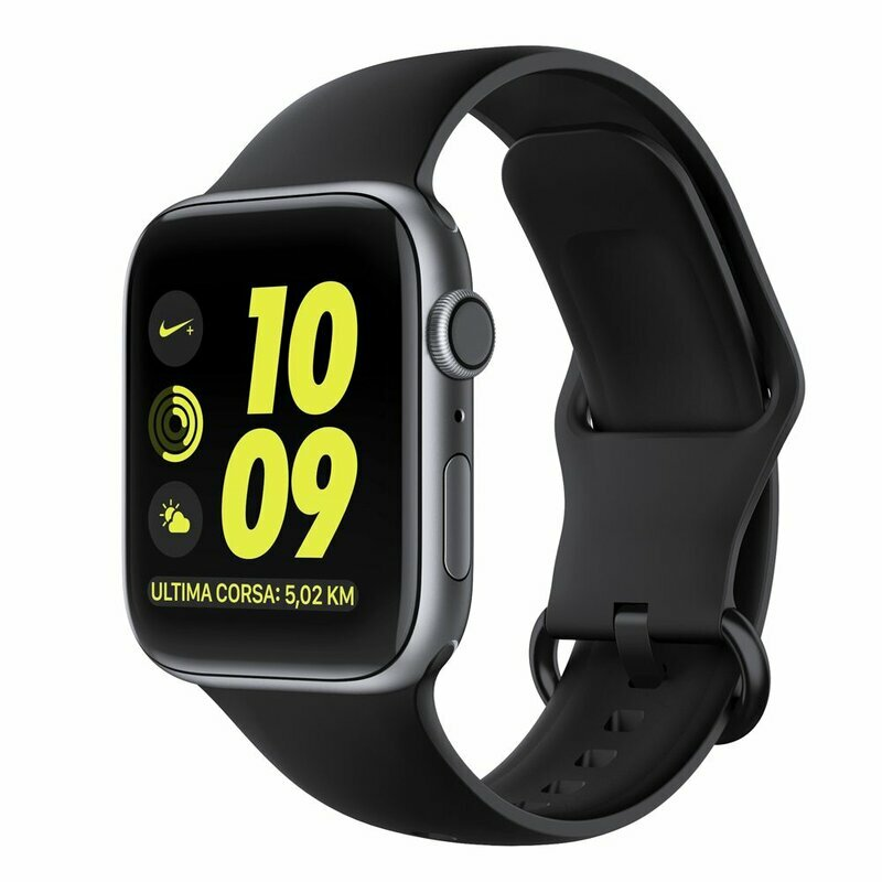 Curea Apple Watch 6 40mm Tech-Protect Gearband - Negru