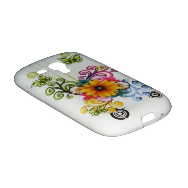 Husa Samsung Galaxy S3 Mini i8200 i8190 Silicon Gel TPU Model 17
