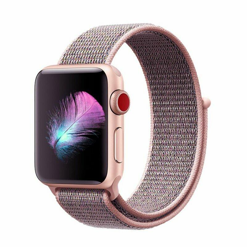 Curea Apple Watch 6 40mm Tech-Protect Nylon - Roz