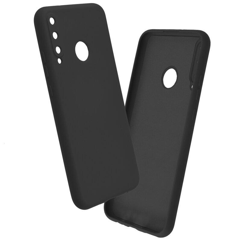 Husa Huawei P40 Lite E Mobster SoftTouch Lite - Negru