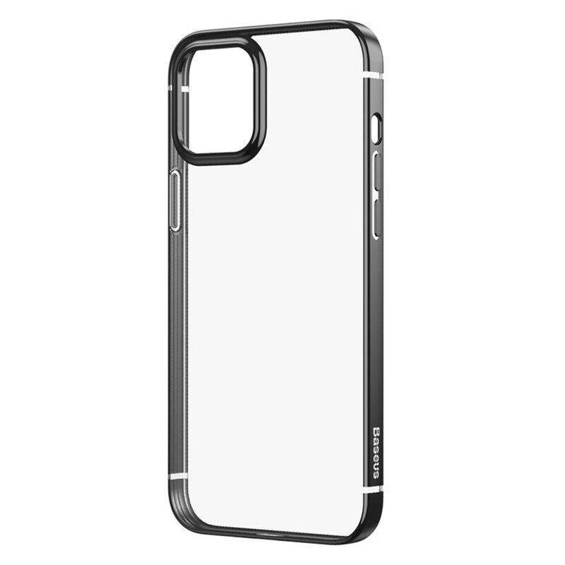 Husa iPhone 12 mini Baseus Shining Protective TPU - ARAPIPH54N-MD01 - Negru