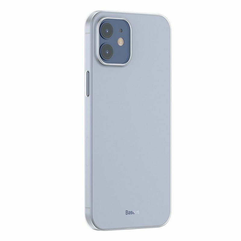 Husa iPhone 12 mini Baseus Wing Protective Case - WIAPIPH54N-02 - Alb