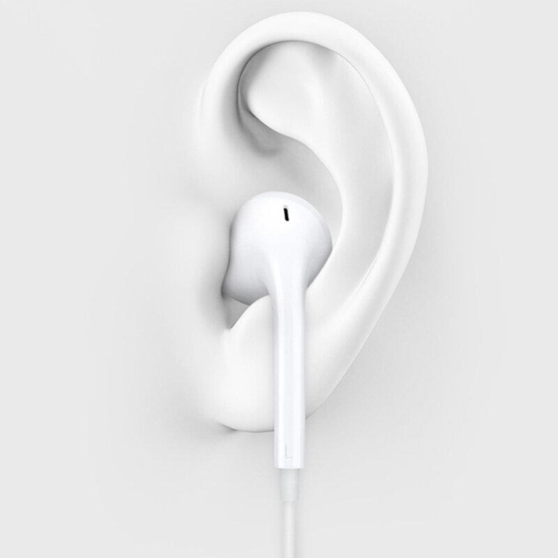 Casti In-Ear Originale Oppo MH156 Stereo Cu Jack 3.5mm Si Microfon - Bulk - Alb