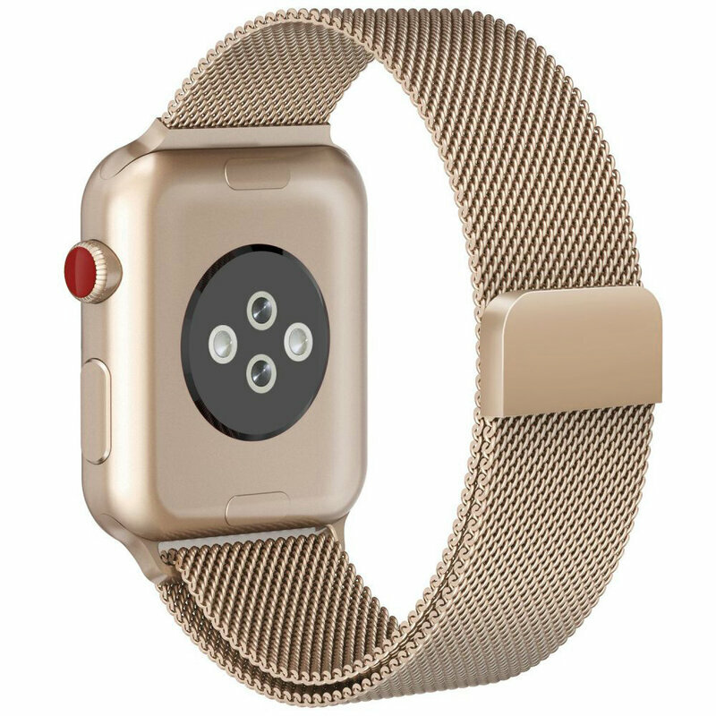 Curea Apple Watch 6 40mm Tech-Protect Milaneseband - Champagne Gold