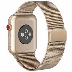 Curea Apple Watch SE 40mm Tech-Protect Milaneseband - Champagne Gold