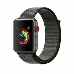 Curea Apple Watch 6 44mm Tech-Protect Nylon - Dark Olive