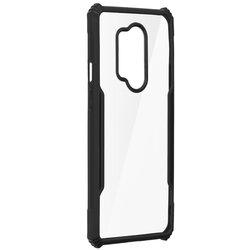 Husa OnePlus 8 Pro Blade Acrylic Transparenta - Negru