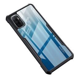 Husa Huawei P40 Pro Mobster Up Fusion  Transparenta - Negru