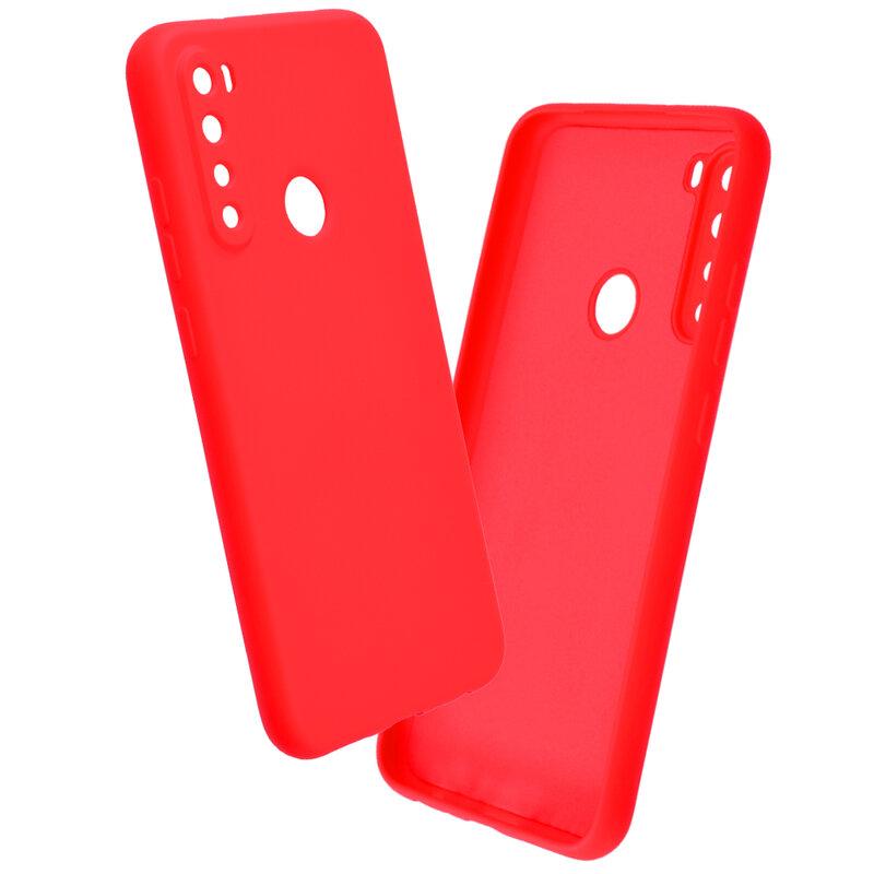 Husa Xiaomi Redmi Note 8 Mobster SoftTouch Lite - Rosu