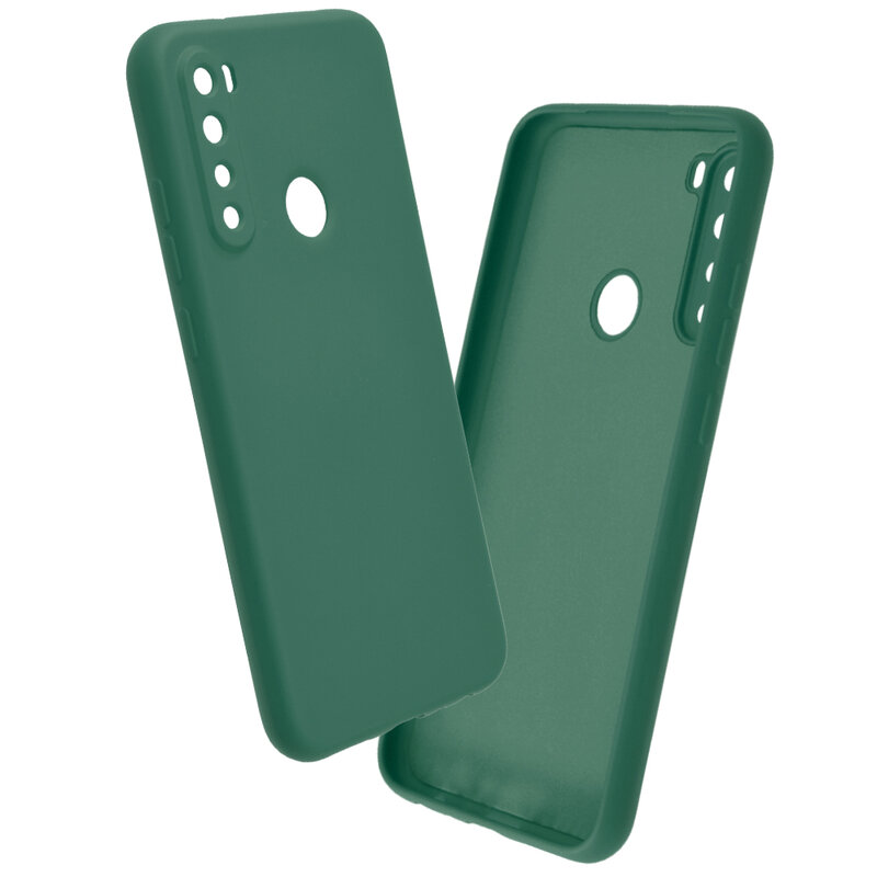 Husa Xiaomi Redmi Note 8 Mobster SoftTouch Lite - Verde Inchis