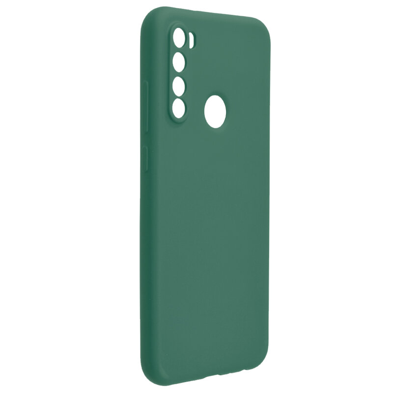 Husa Xiaomi Redmi Note 8T Mobster SoftTouch Lite - Verde Inchis