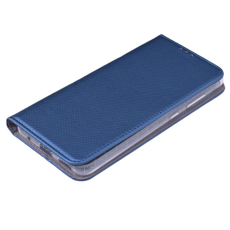 Husa Smart Book Nokia 6.2 2019 Flip - Albastru