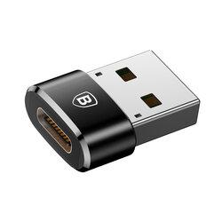 Convertor De La Type-C La USB Adaptor Baseus 5A - CAAOTG-01 - Negru