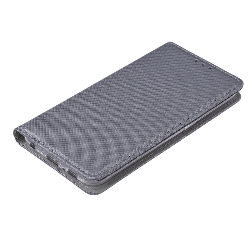 Husa Smart Book Samsung Galaxy S6 G920 Flip Gri
