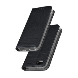 Husa Smart Book iPhone SE, 5, 5S Flip Negru
