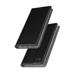 Husa Smart Book Huawei P8 Lite Flip Negru
