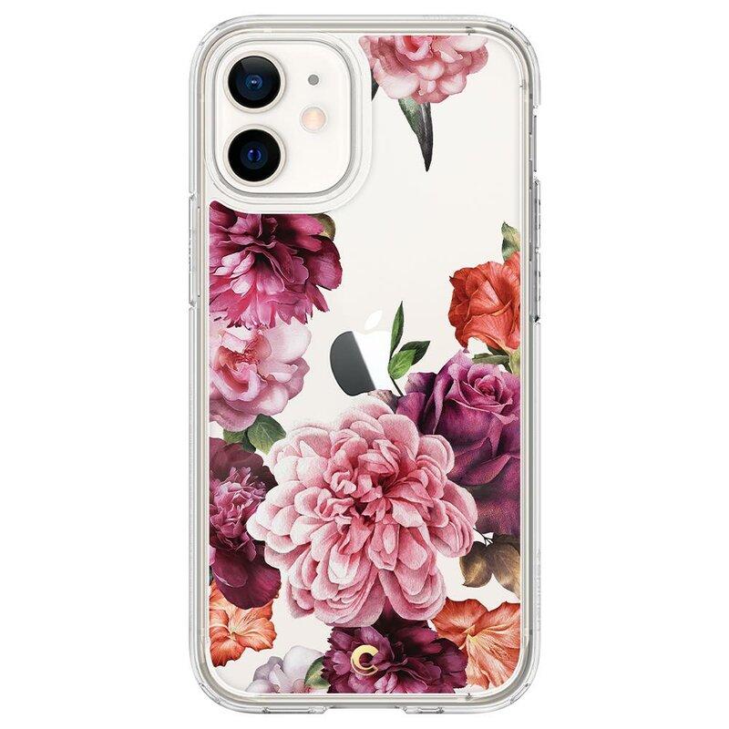 Husa iPhone 12 Spigen Ciel by Cyrill Cecile - Rose Floral