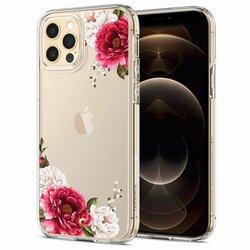 Husa iPhone 12 Pro Spigen Ciel by Cyrill Cecile - Red Floral