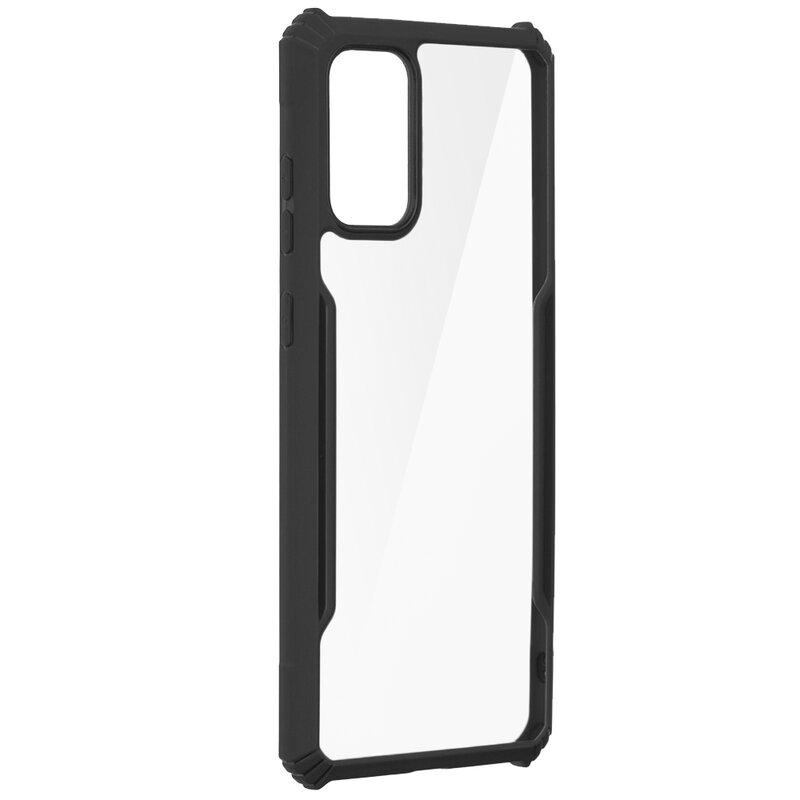 Husa Samsung Galaxy S20 Plus Blade Acrylic Transparenta - Negru