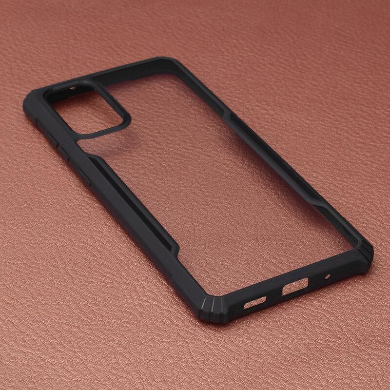 Husa Samsung Galaxy S20 Plus 5G Blade Acrylic Transparenta - Negru