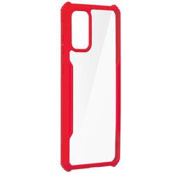 Husa Samsung Galaxy S20 Plus 5G Blade Acrylic Transparenta - Rosu