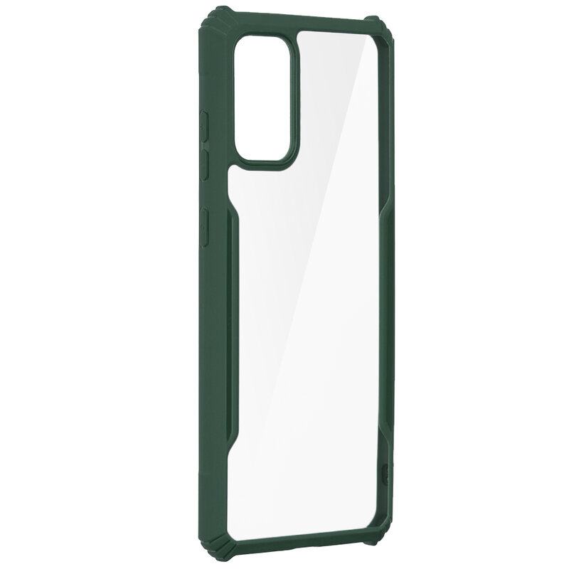 Husa Samsung Galaxy S20 Plus Blade Acrylic Transparenta - Verde