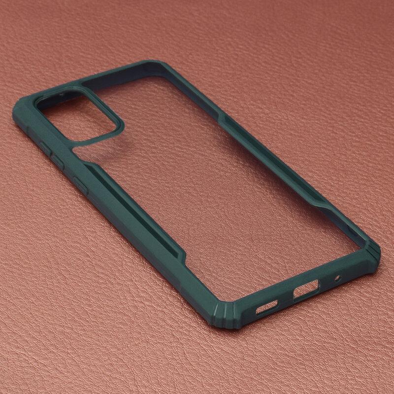 Husa Samsung Galaxy S20 Plus 5G Blade Acrylic Transparenta - Verde