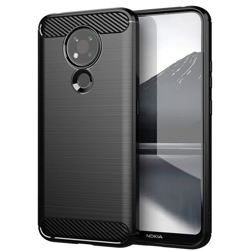 Husa Nokia 3.4 TPU Carbon - Negru