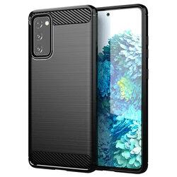 Husa Samsung Galaxy S20 FE TPU Carbon - Negru