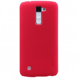 Husa LG K10 Nillkin Frosted Red