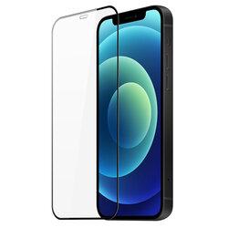 Folie Sticla iPhone 12 Dux Ducis Tempered Glass - Negru