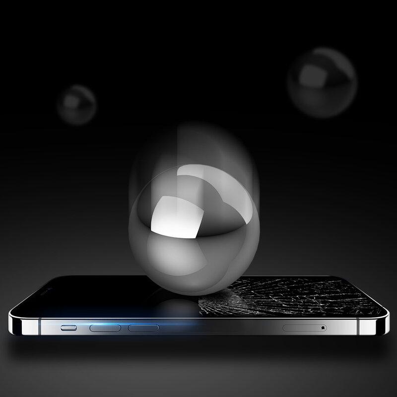 Folie Sticla iPhone 12 Pro Max Dux Ducis Tempered Glass - Negru