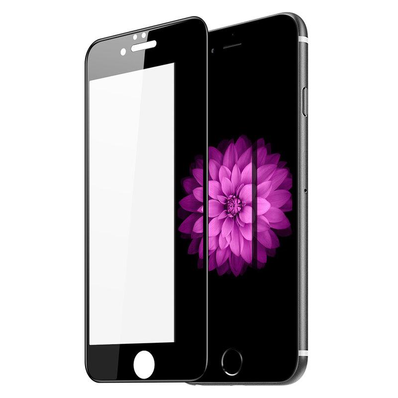 Folie Sticla iPhone 6 / 6S Dux Ducis Tempered Glass - Negru