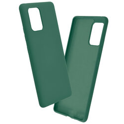 Husa Samsung Galaxy S10 Lite Mobster SoftTouch Lite - Verde Inchis