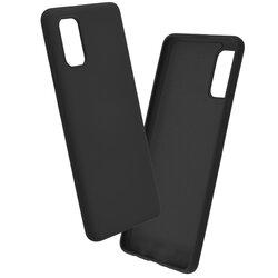 Husa Samsung Galaxy A41 Mobster SoftTouch Lite - Negru