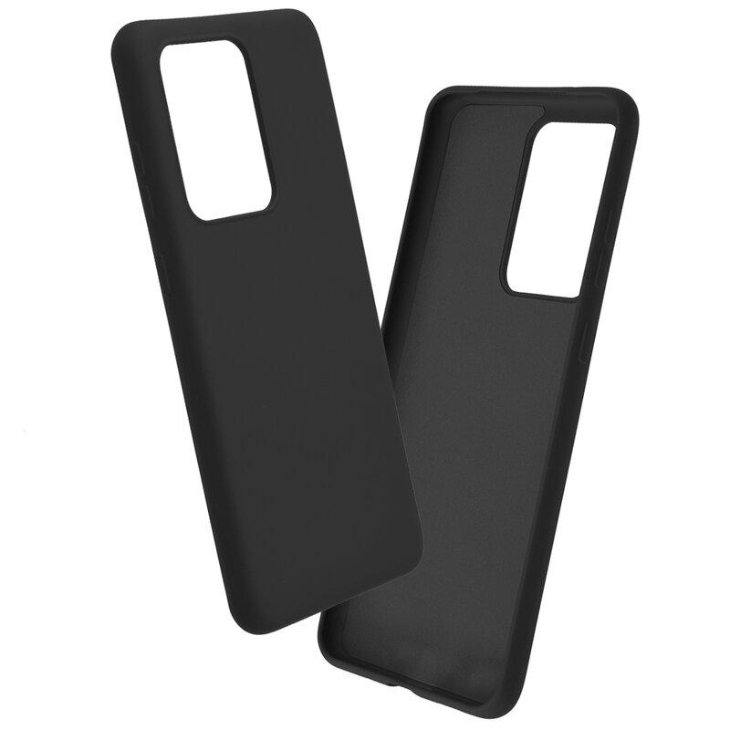 Husa Samsung Galaxy S20 Ultra 5G Mobster SoftTouch Lite - Negru