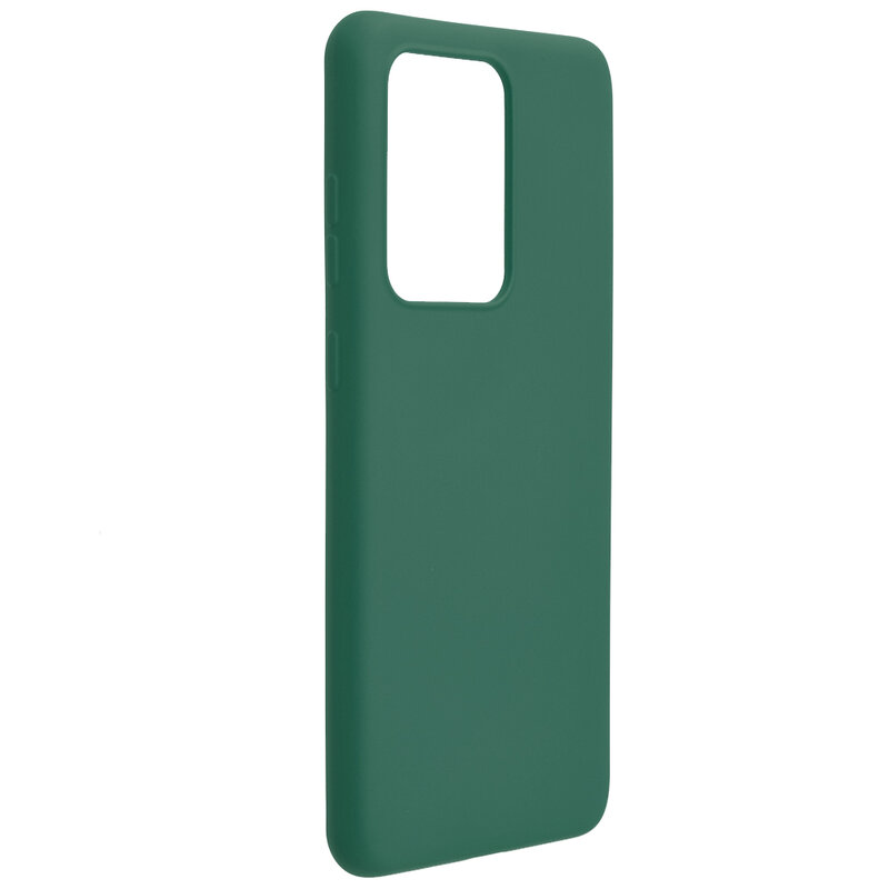 Husa Samsung Galaxy S20 Ultra 5G Mobster SoftTouch Lite - Verde Inchis