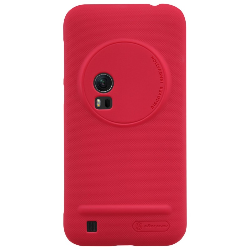 Husa ASUS ZenFone Zoom ZX551ML Nillkin Frosted Red
