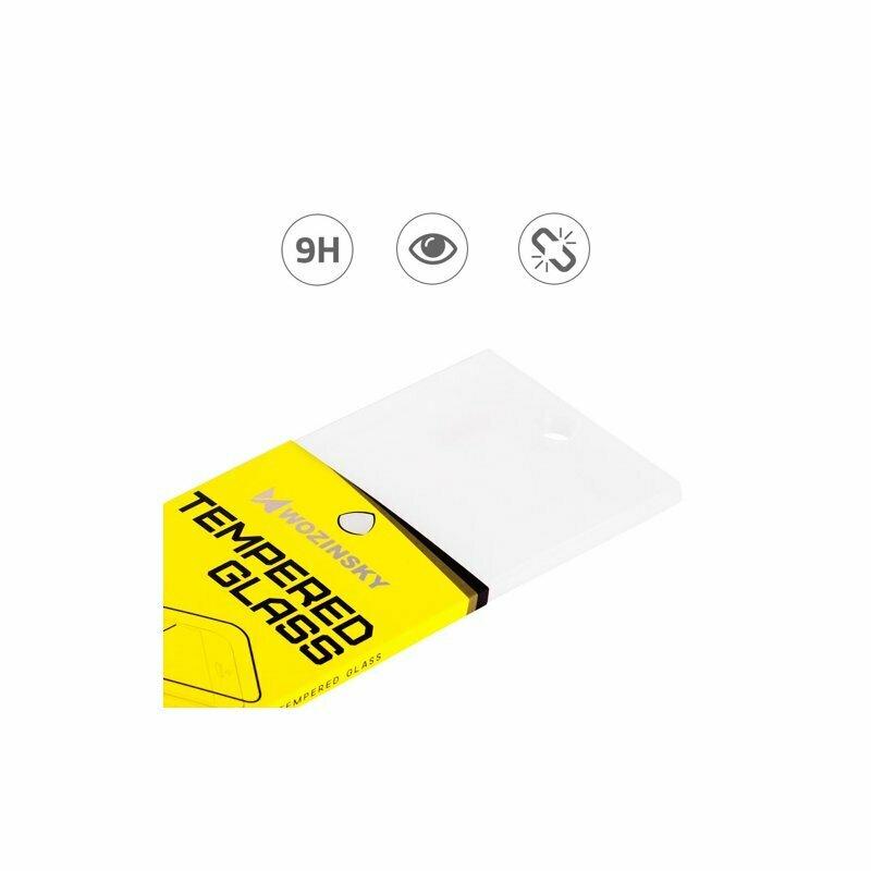Folie Sticla iPhone 12 Wozinsky Full Glue Full Cover - Negru
