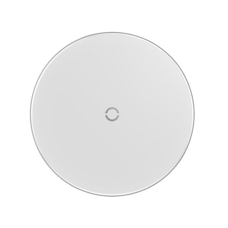 Incarcator Wireless Baseus 10W Cu Cablu De Incarcare USB/Lightning - CCALL-JK02 - Alb