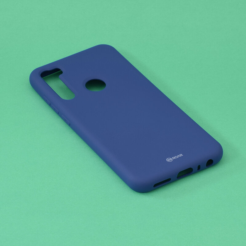 Husa Xiaomi Redmi Note 8 Roar Colorful Jelly Case - Albastru Mat