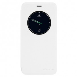 Husa Meizu Pro 6 NILLKIN Sparkle S-View Flip Alb