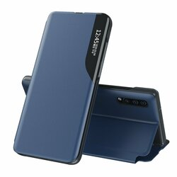 Husa Samsung Galaxy A30s Eco Leather View Flip Tip Carte - Albastru