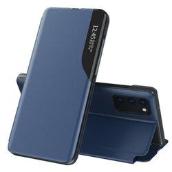 Husa Samsung Galaxy S20 Eco Leather View Flip Tip Carte - Albastru
