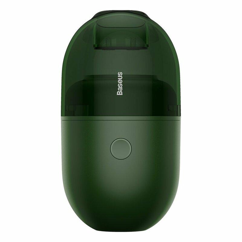 Mini Aspirator Birou Baseus C2 Cu Cablu De Incarcare Type-C - CRXCQC2-06 - Verde