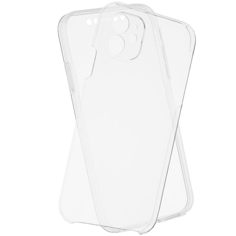 Husa iPhone 11 FullCover 360 - Transparent